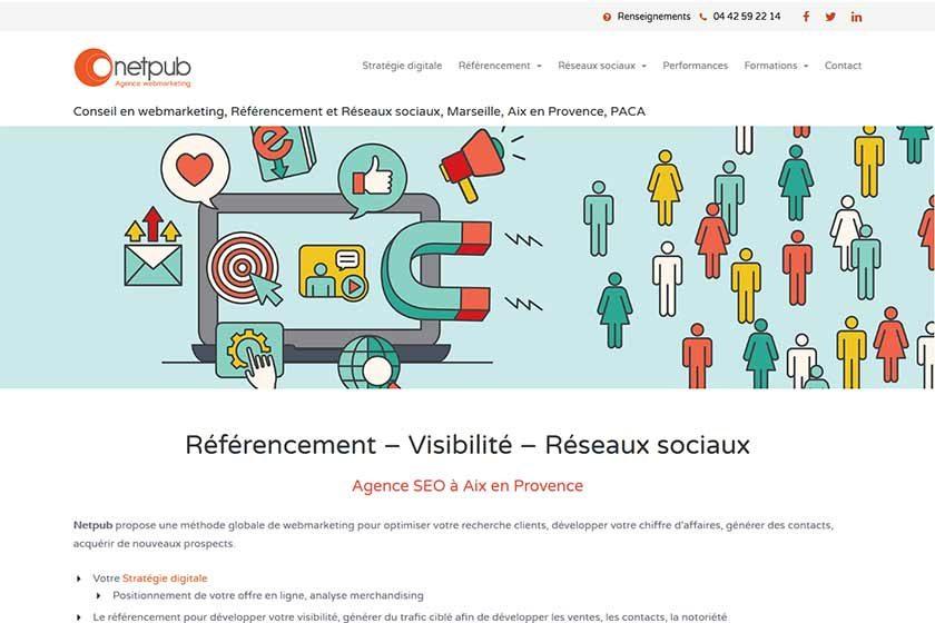 Nouveau site Netpub 2018